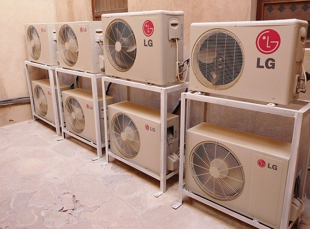 ventilátory LG
