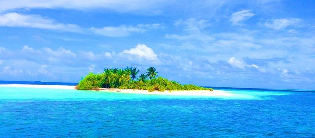 ostůvek u Malediv