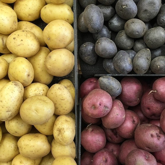 3 druhy brambor