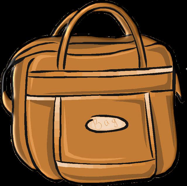 hnědá taška