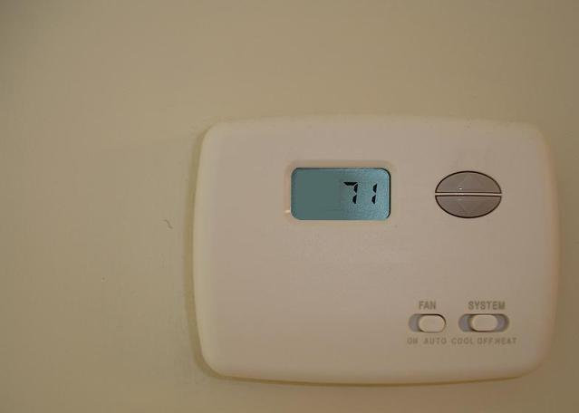 termostat na klimatizaci