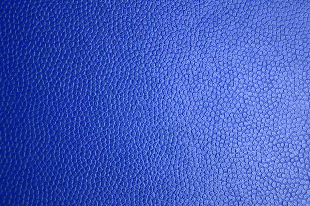 Textura modré kůže