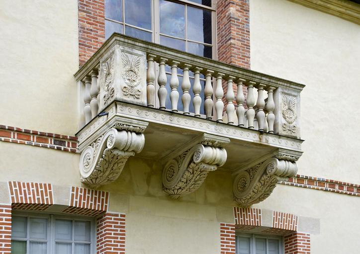 historický balkón