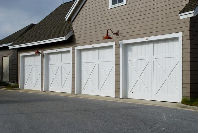 typická vesnická garáž v USA
