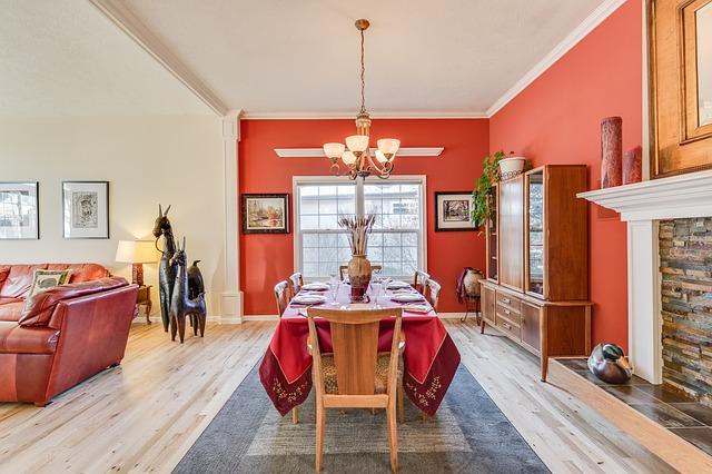 krásně barevně vybavené místnosti