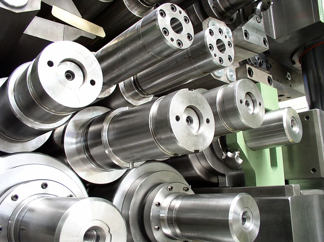 kovové přesné součástky ocel