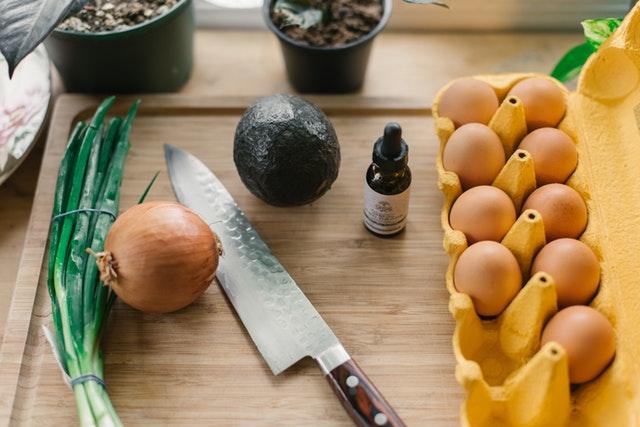 potraviny v kuchyni